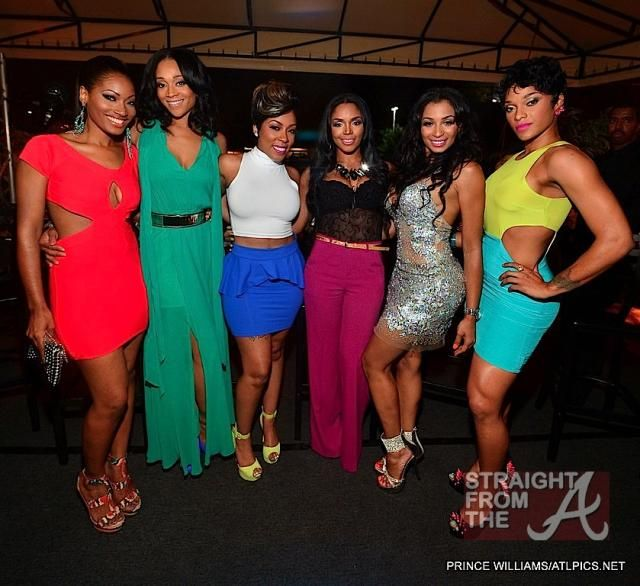 Love-and-Hip-Hop-Atlanta Erica, Mimi, K Michelle,  Rasheeda, Carly Rae and  Joseline Puerto Rican princess