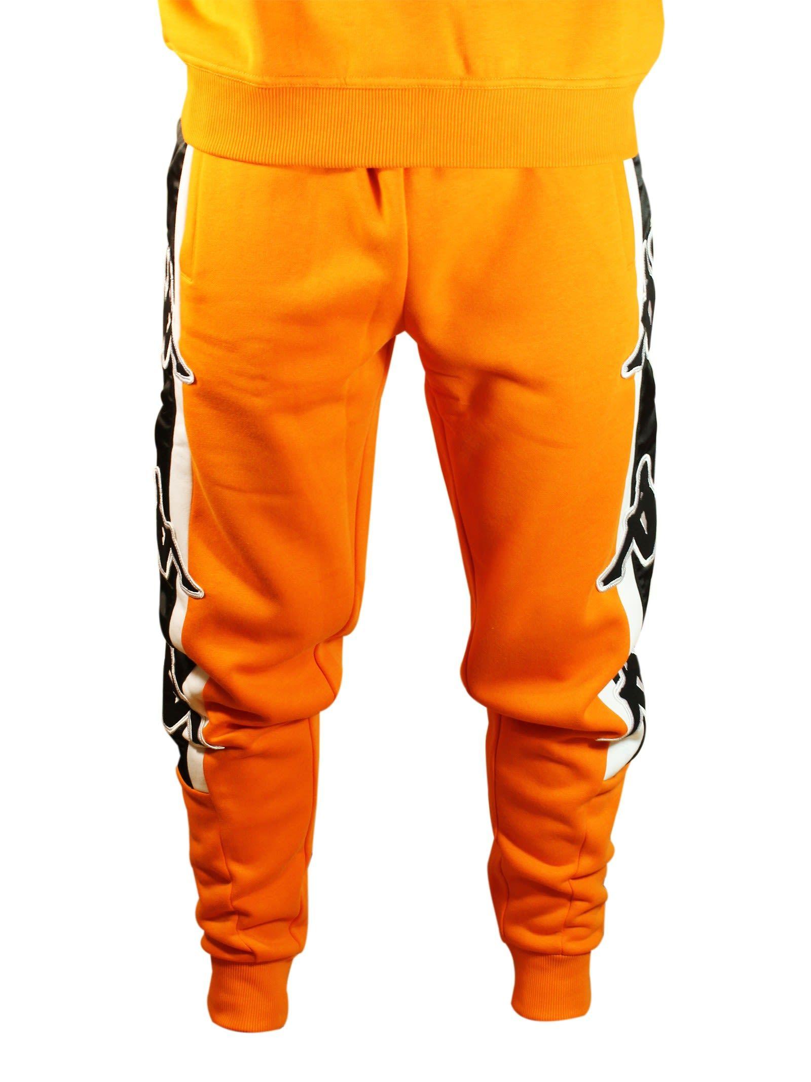 c4511a3c KAPPA Kontroll Big Omini Sweatpants in Orange | MENS FASHION in 2019 ...