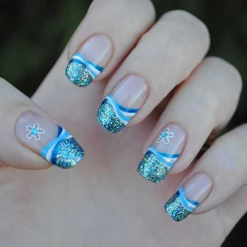 Nail Tip Designs Ideas nail tip designs nail designs nail designs 2014 tumblr step by step for short nails with French Tip Nails French Tip Nail Designs Nail Art Inspiration