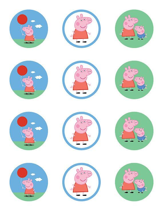 Peppa pig party toppers and wrappers freeprintables4u peppa pig printables pinterest pig party free and birthdays