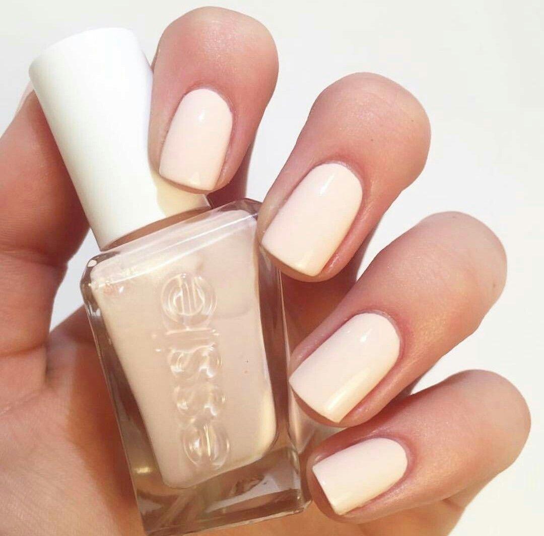 Essie Satin Slipper (gel)   Nails   Pinterest   Color block nails ...