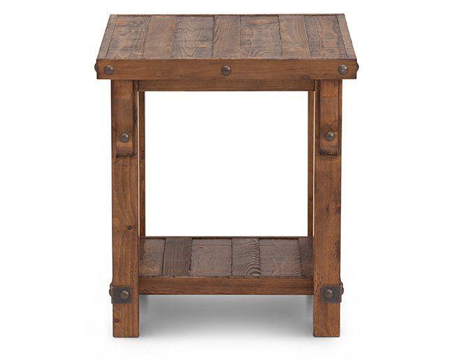Rustic Craftsman End Table 149 Loft Furniture