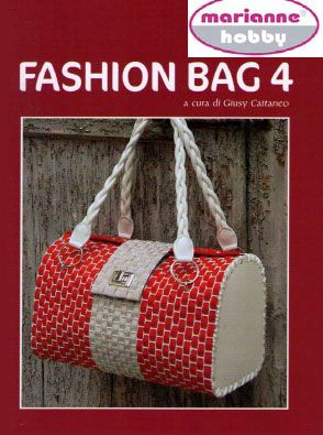 I like the shape of this bag. I'd do it either in plastic canvas and yarn, or in fabric sewn around plastic canvas for stability.
