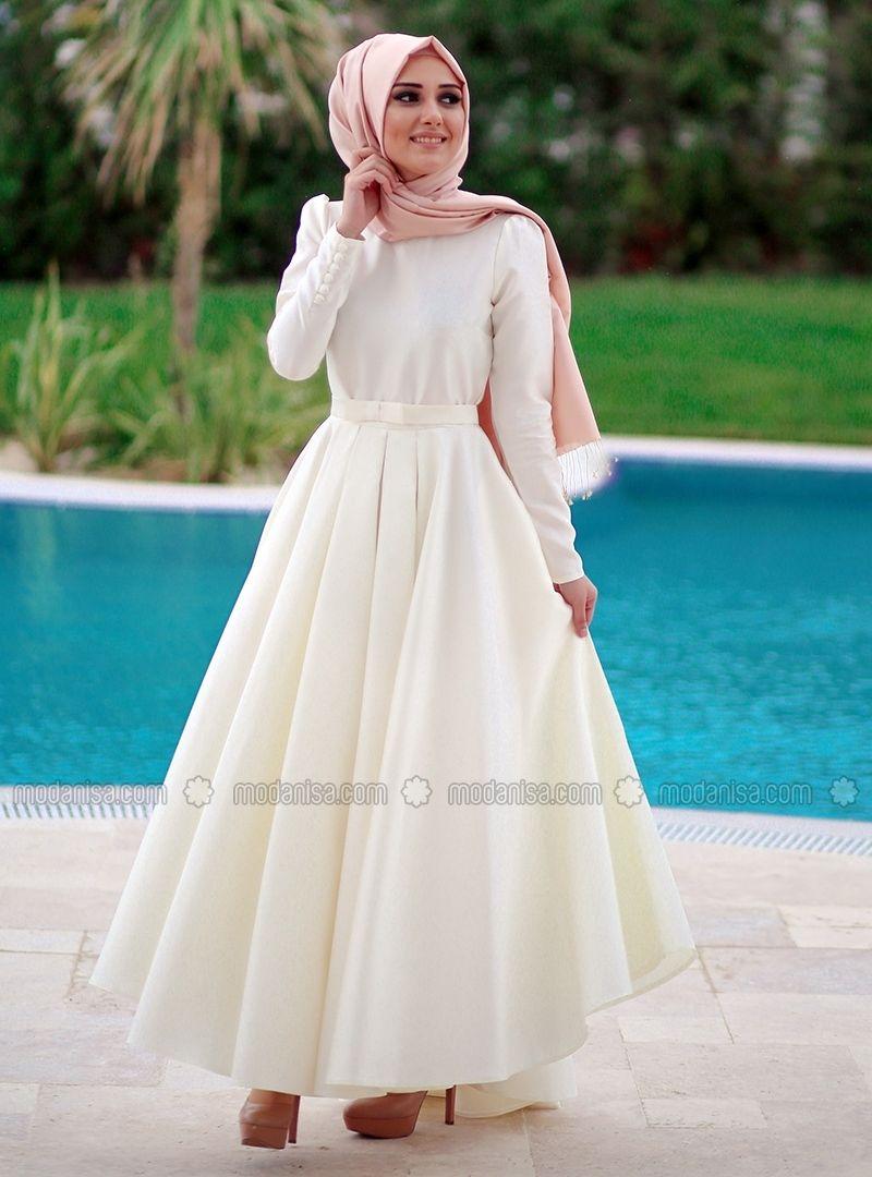 Beste Elbise Ekru Minel Ask Elbise Elbise Modelleri Elbise Dugun
