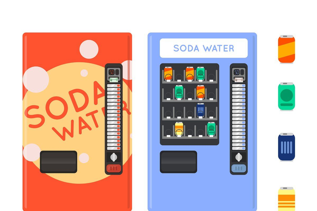 Card pay vending machine in 2020 drink vending machines