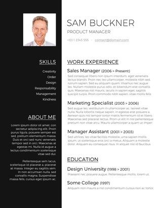 125 Free Resume Templates for Word Downloadable Cool resumes