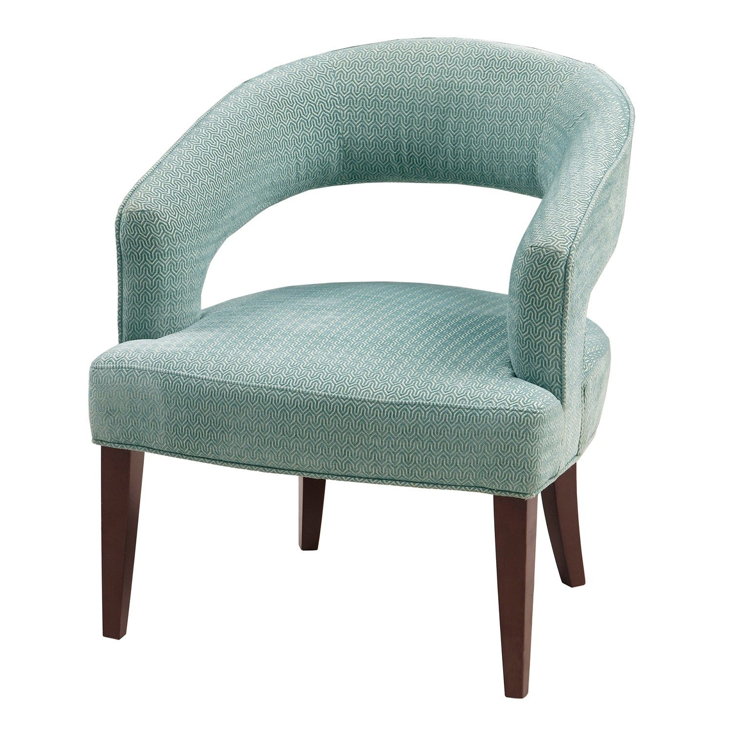 Madison Park Tera Accent Chair Accent Chairs Blue
