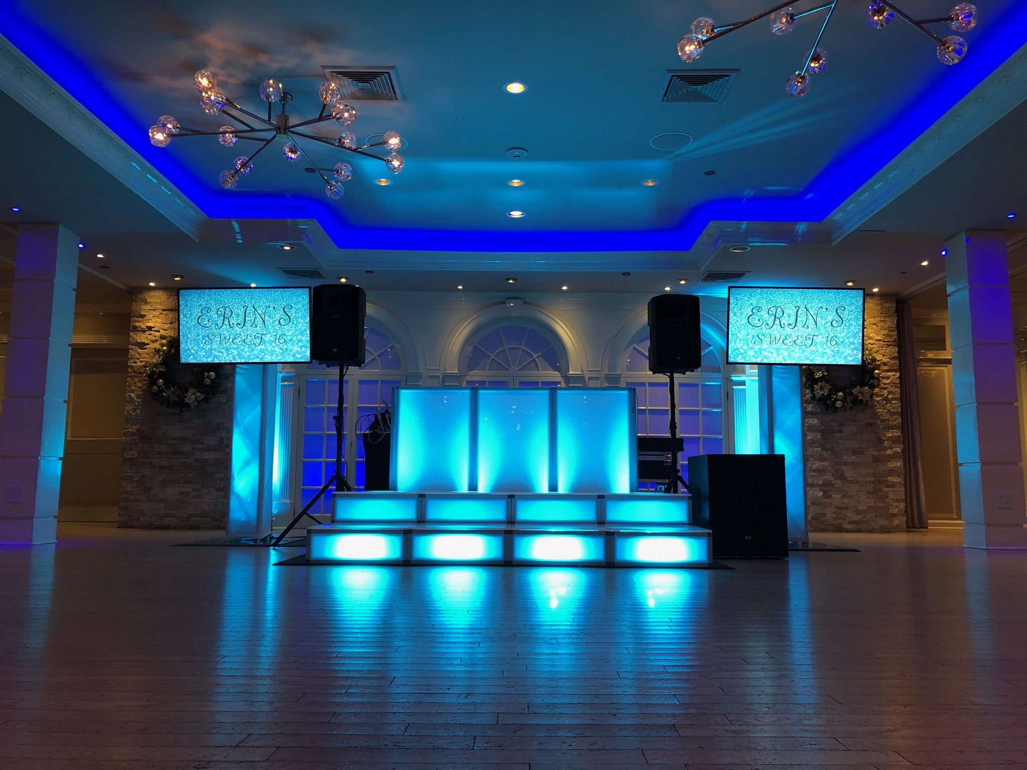 Sweet 16 Dj Long Island Led Stages Event Event Lighting Wedding Rentals