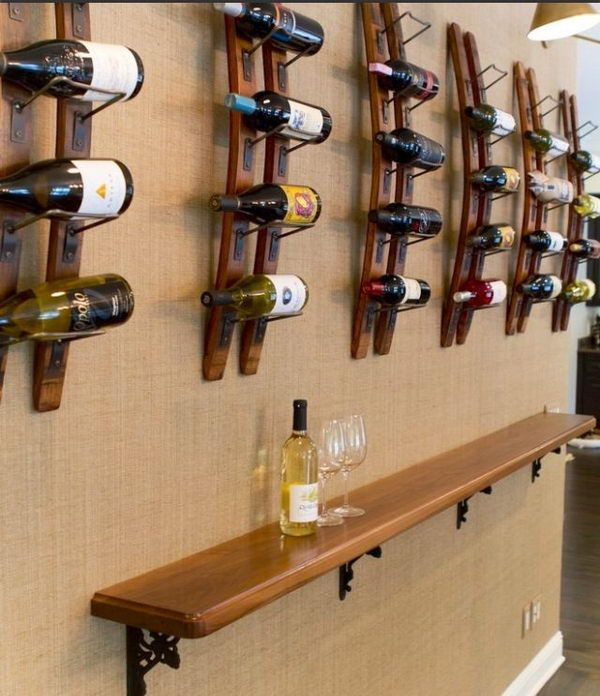 20 creative basement bar ideas basements shelves and bar for Creative shelf ideas