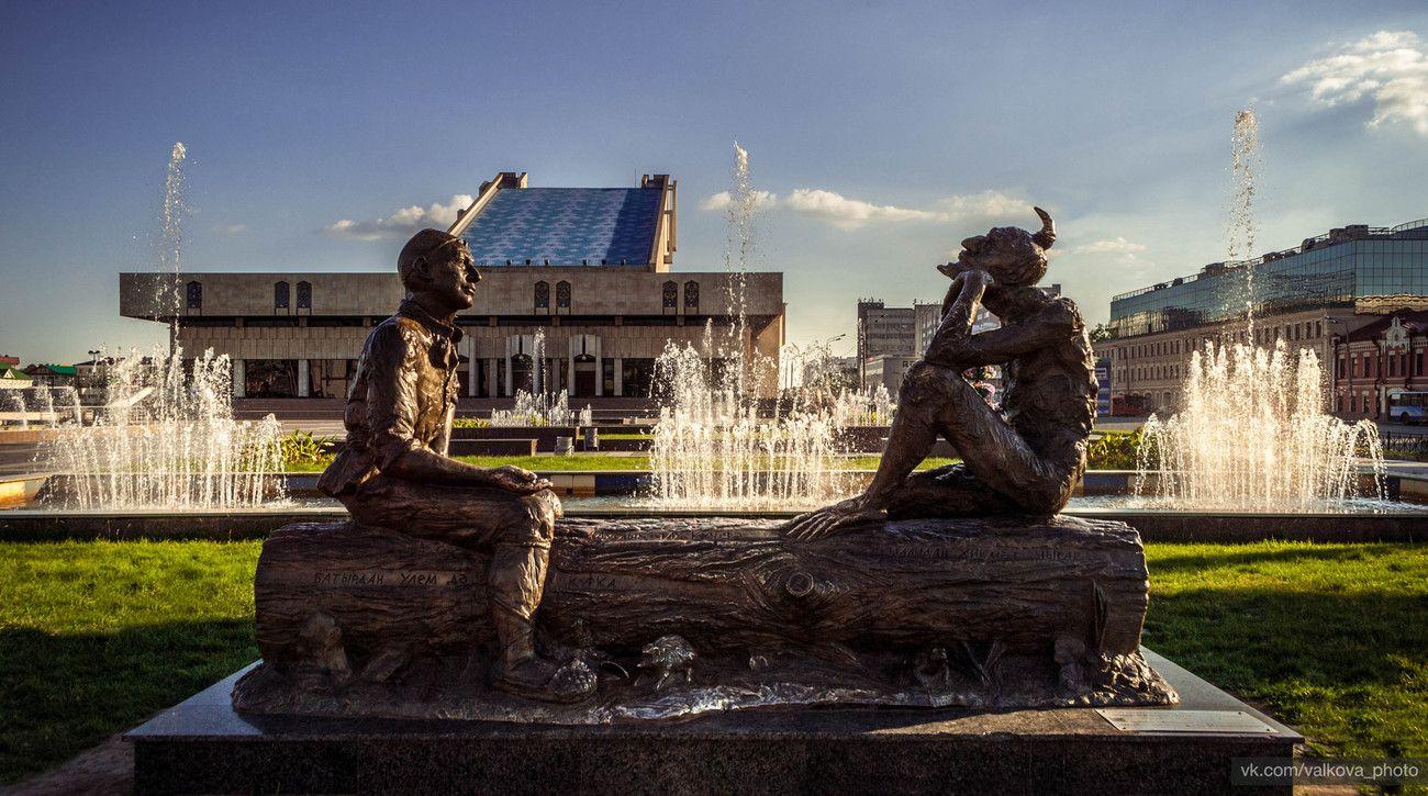 Памятник Сказки Шурале