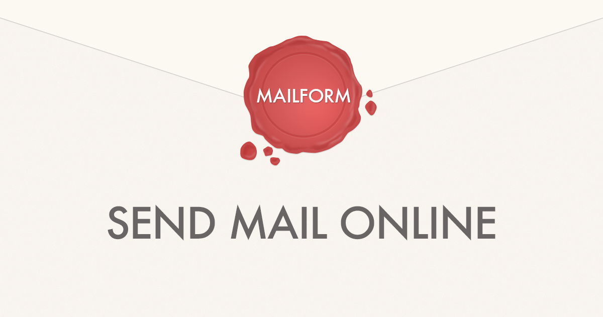 Mailform Postcards Choose any photo and send it as a