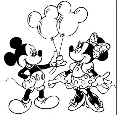 Mickey Mouse Coloring Pages for Kids Creativity | Festa de 1 ano do ...