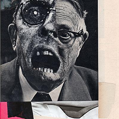 Charles Wilkin, através de suas colagens tenta reconstruir uma série de imagens, concentrando-se no emocional, na alteração de rostos e corpos resultando em algo cativante e ao mesmo tempo perturbador.