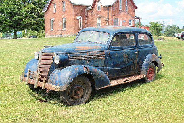 1938 Chevrolet Master Deluxe 2 Door Coach Canadian Classic
