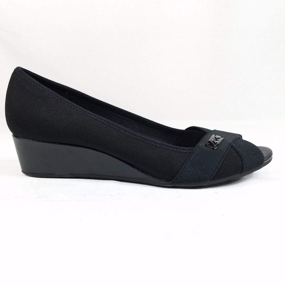 Wedge Peep Toe Heels 9.5