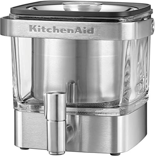 New KitchenAid KCM4212SX Cold Brew Coffee Maker-Brushed ...