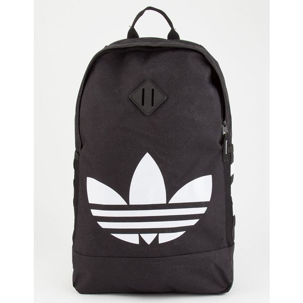 02c1a69833a5 Adidas Originals Trefoil Backpack ( 45) ❤ liked on Polyvore featuring bags