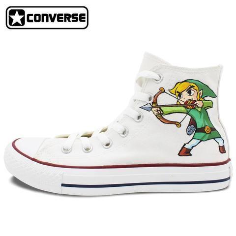 Original White Converse Chuck Taylor Men Women Shoes The