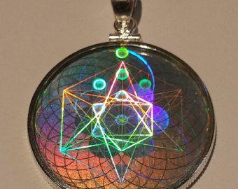 Sacred geometry hologram pendant schmuckstcke pinterest sacred geometry hologram pendant aloadofball Gallery