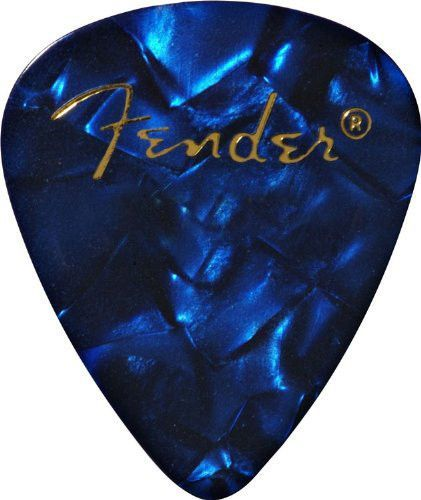 Fender Classic Celluloid Picks Shell Medium 12 Stück