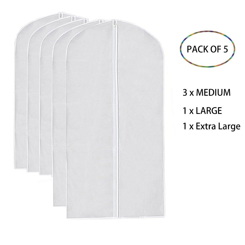 Garment Bags Clear I-Choice PEVA Hanging Garment Cover Bag Dance Clothes Covers Dustproof  sc 1 st  Pinterest & Garment Bags Clear I-Choice PEVA Hanging Garment Cover Bag Dance ...