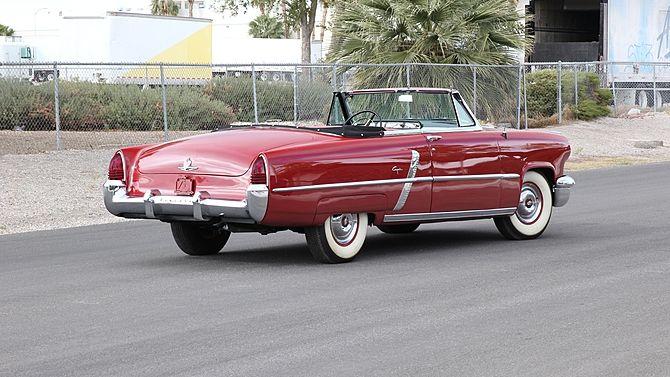 1952 Lincoln Capri Convertible 317/160 HP, Automatic
