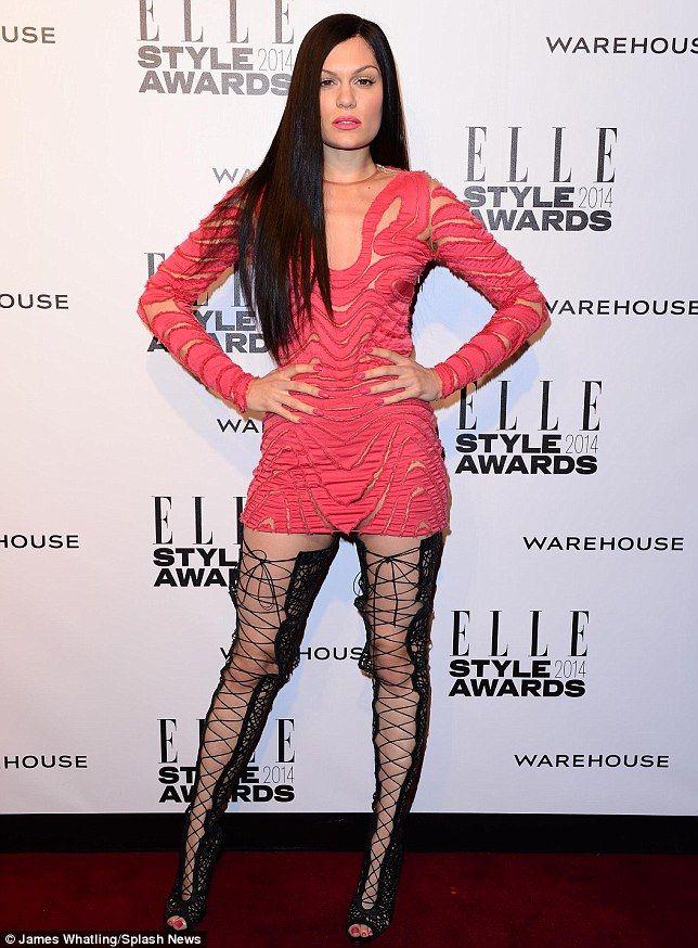 jessie j style dress image