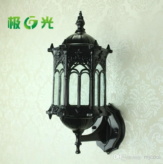 Wholesale Outdoor Wall Lamps - Buy Fashion Lamp LED Omni Project-light Billboard Courtyard Garden Shopping Wall Lights Lamps Restore Ancient Ways Waterproof, $28.93 | DHgate