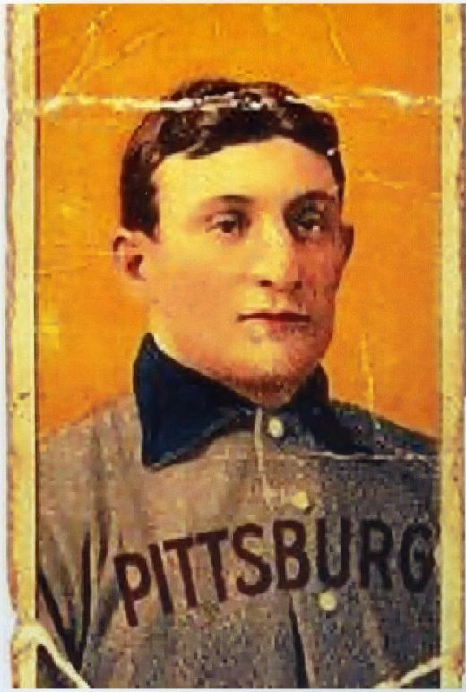 This Honus Wagner baseball card sold for a fortune