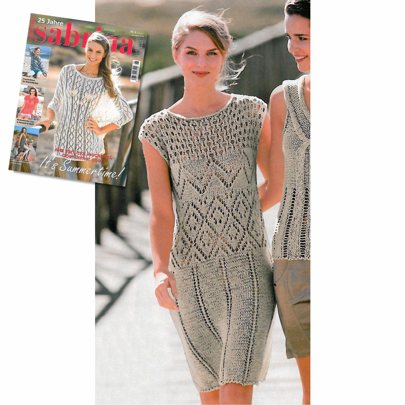 Modell 404/4, Kleid aus Bandana von Junghans-Wolle « Kleider ...