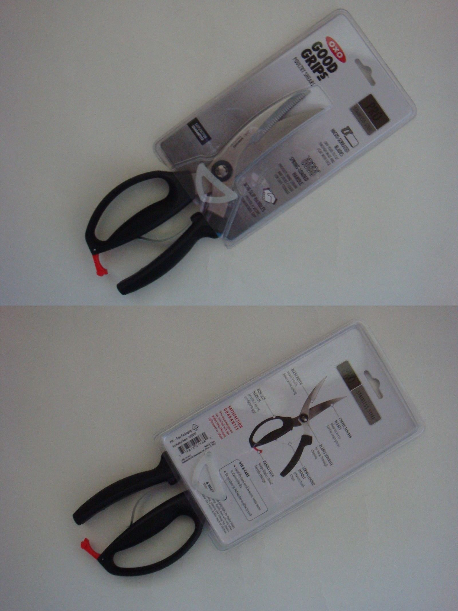 Scissors And Shears 122938: New Oxo Good Grips Pro Stainless Steel Kitchen  Poultry Shears