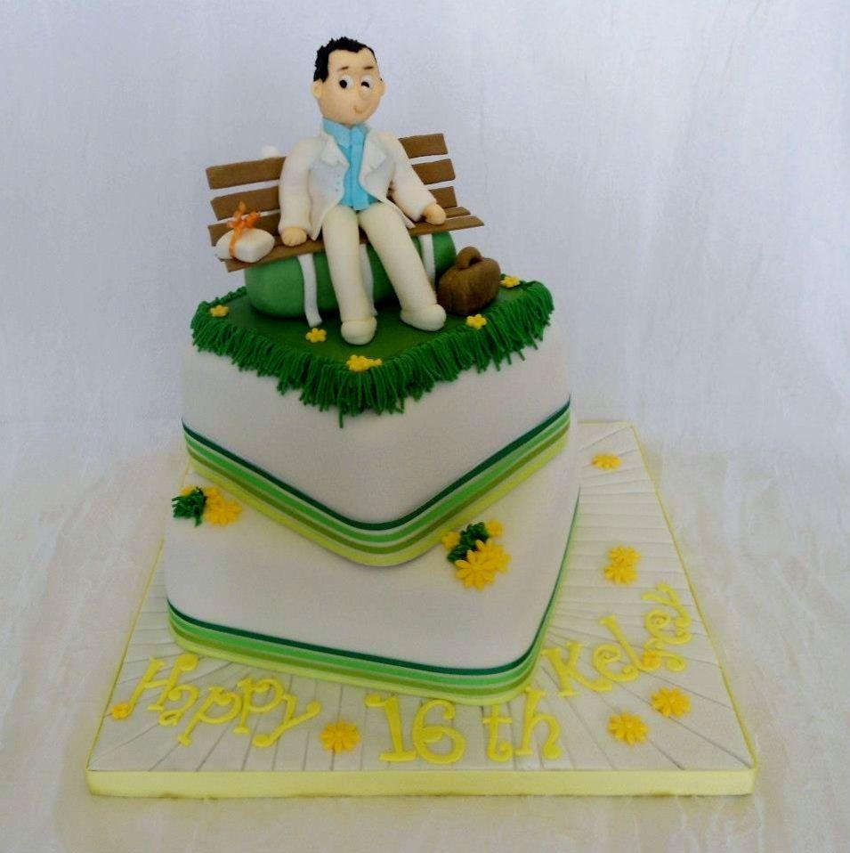 Resultado de imagen de forrest gump cake