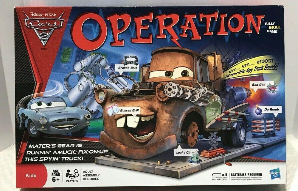 Details about HASBRO Disney Pixar Tow Mater Operation