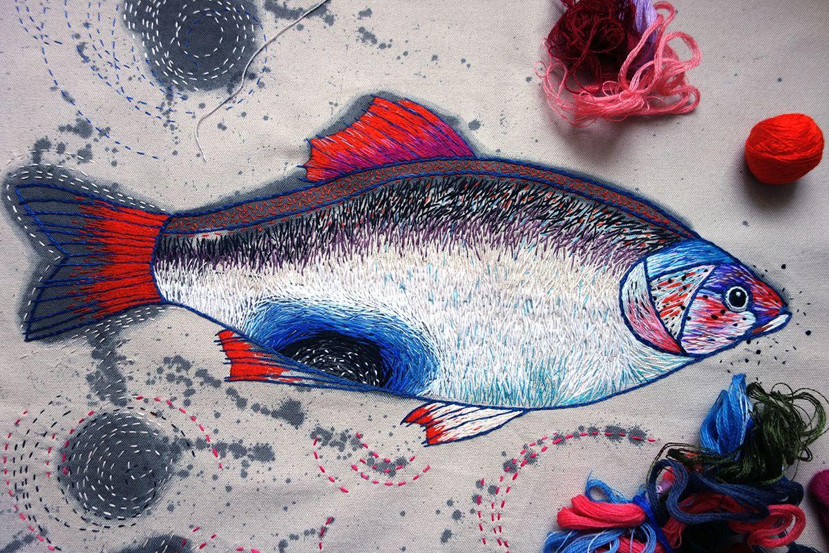 Anna Aniskina - A big fish