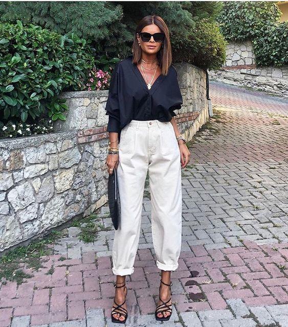 Yeni Pantolon Trendi: Slouchy Jean Modelleri | kadinev.com