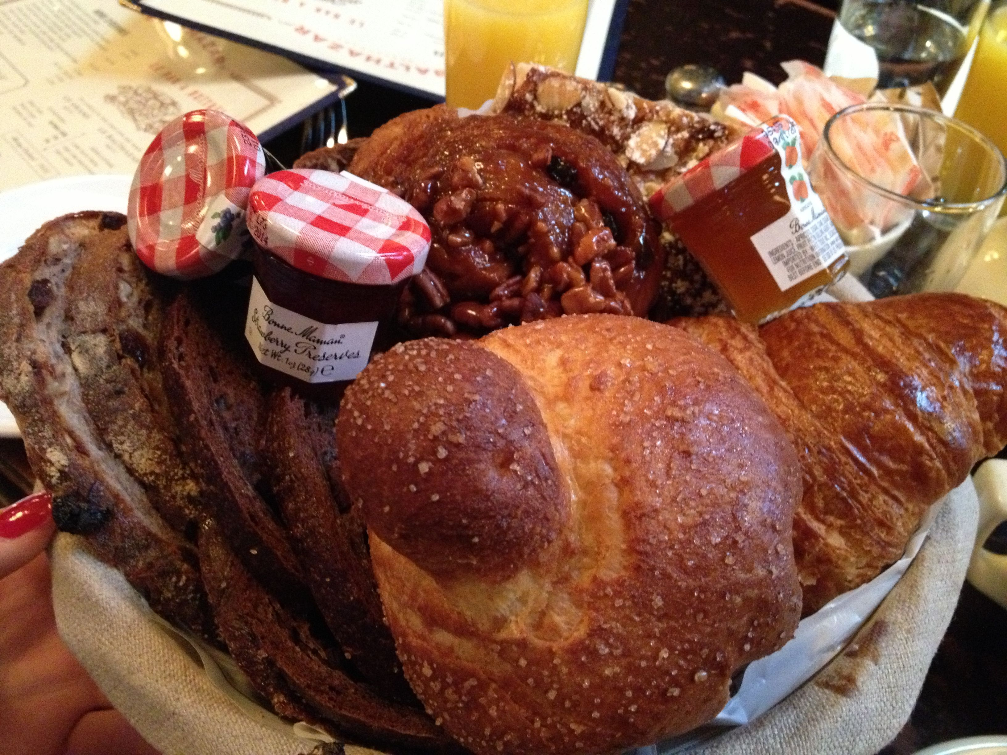 The Epic Breakfast Bread Basket At Balthazar New York City