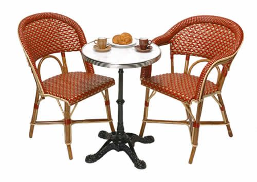 Tk Collections Authentic French Cafe Chairs Amp Bistro