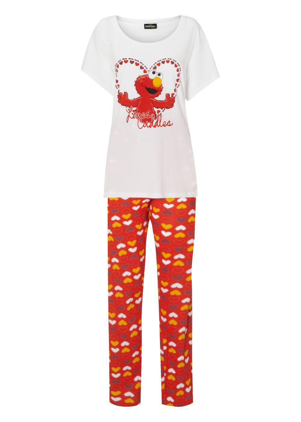 cc50021e9a Matalan - Elmo Sesame Street Pyjama Set