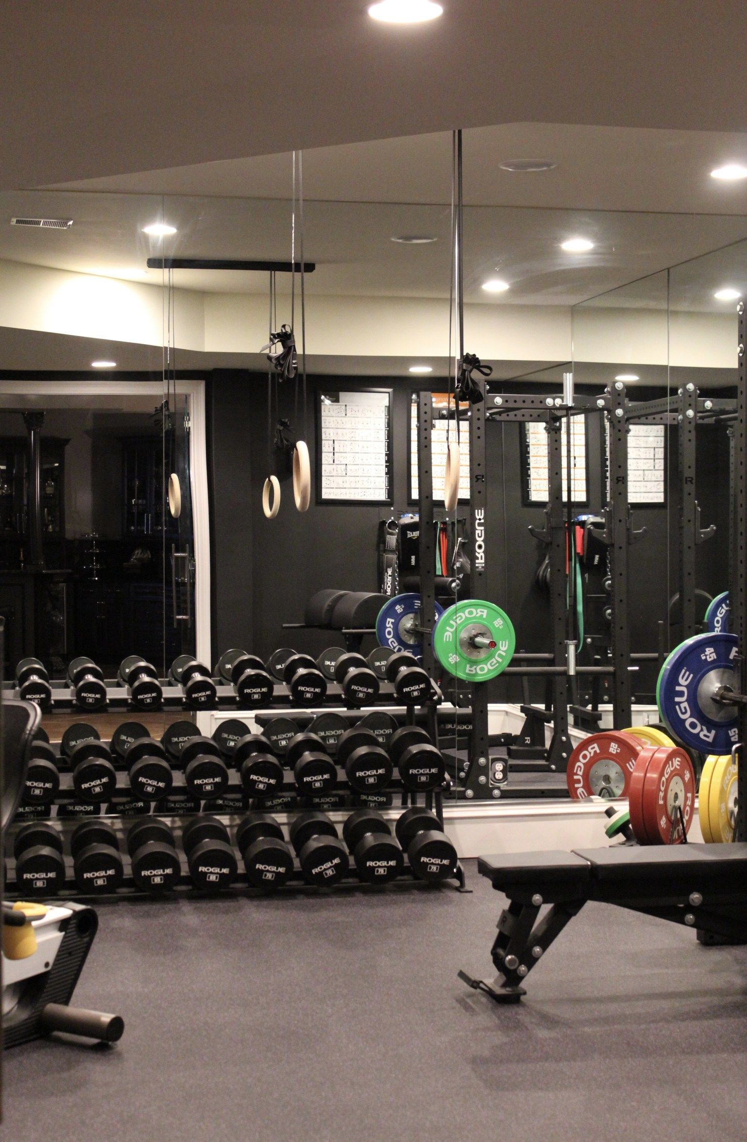 """Building """"The Ultimate Home Gym"""" the Rogue Way Happy"""