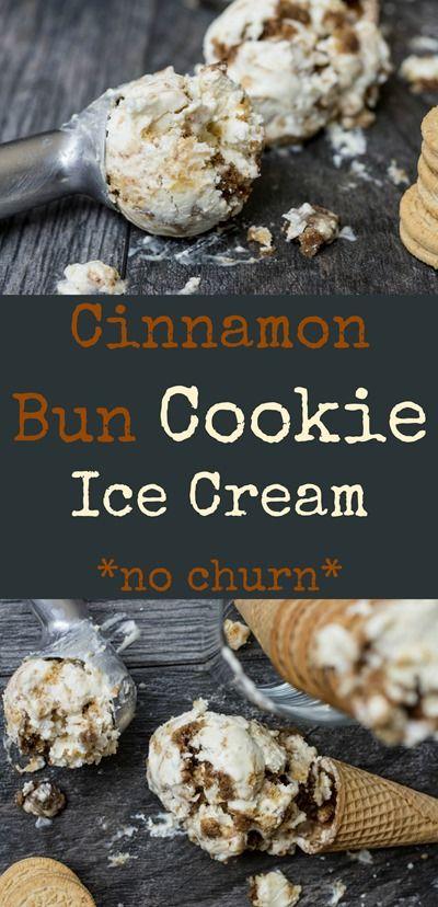 cinnamon bun cookie ice cream recipe ice cream cookies ice cream desserts cooking recipes on hebbar s kitchen recipes videos ice cream id=15646