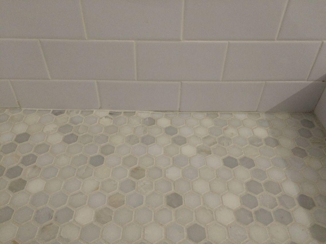 MS International Greecian white marble hexagon tile home depot white ...
