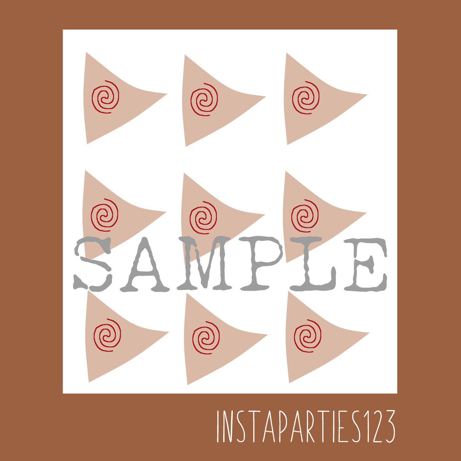 DIGITAL Moana Sailboat Cup Cake Topper Instant Download Printable - Vinyl cup care instructions