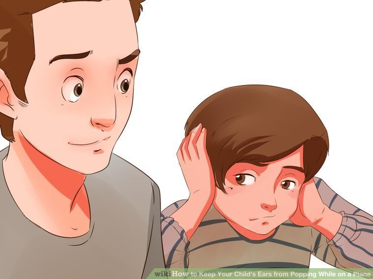 How to keep your childs ears from popping while on a