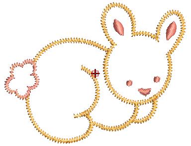 Imagenes de conejos para bordar a maquina gratis buscar for Disenos para bordar