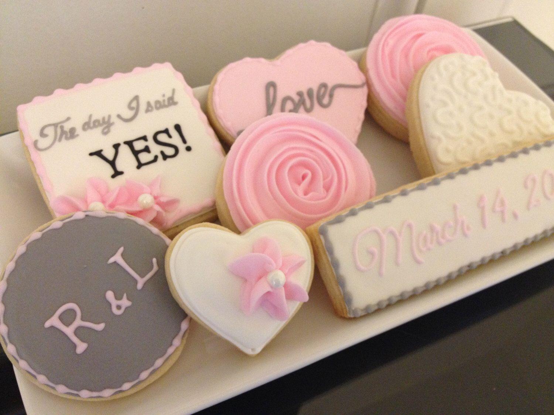 Engagement Cookies | Engagement cookies, Engagement and Sugar cookies
