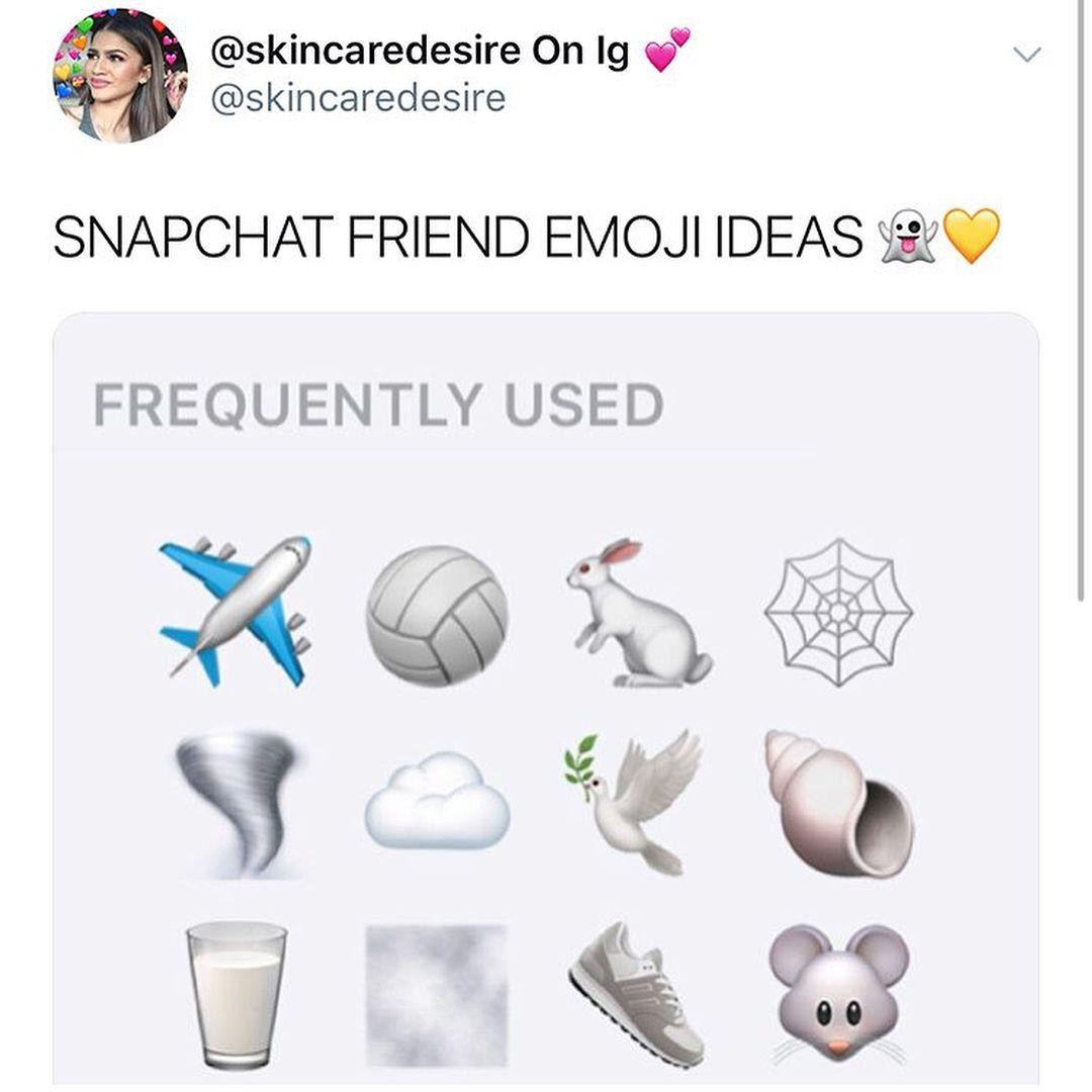 I Think That The Pink One Is Very Cute Wbu Snaps Snapchats Emojis Friendsemoji Idea Tips Th Snapchat Friend Emojis Snapchat Emojis Emoji Combinations