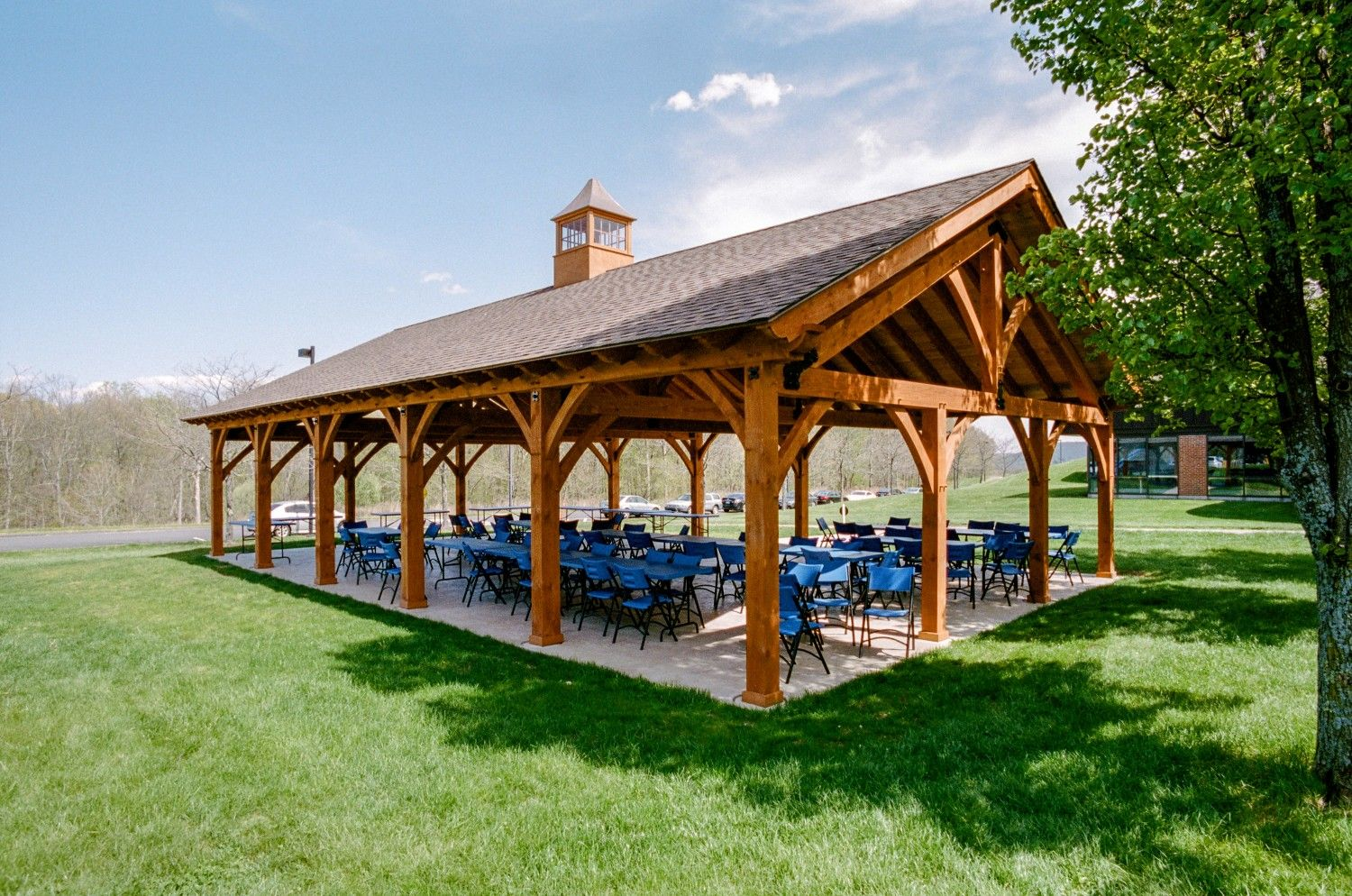 Pavilions Timber Frame & Vinyl The Barn Yard & Great