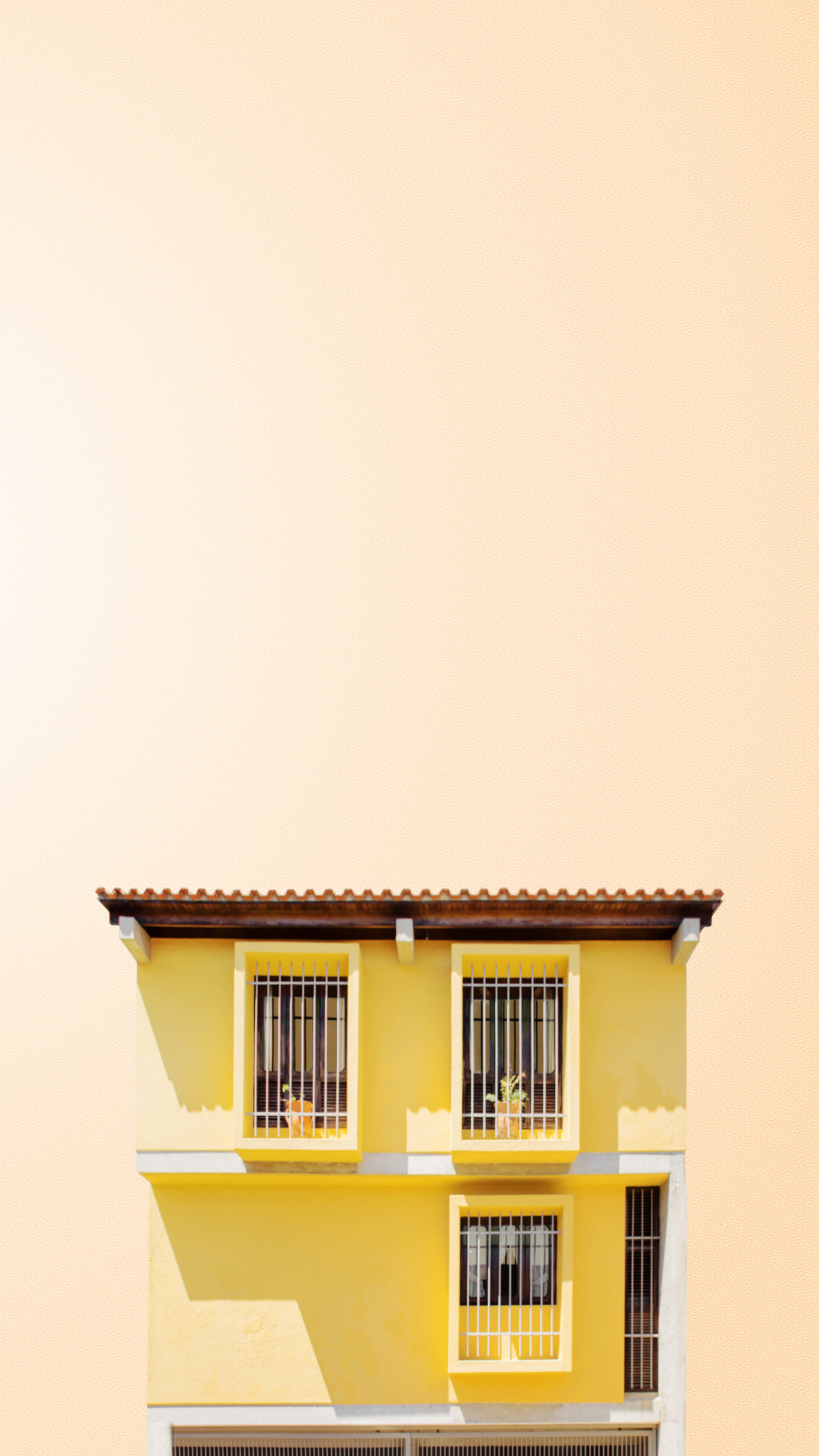 Three S A Threat Minimalist Wallpaper Pastel House Wallpaper