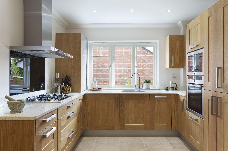 How To Bleach Oak Cabinets Hunker In 2020 Honey Oak Cabinets Mission Style Kitchen Cabinets Kitchen Cabinet Trends