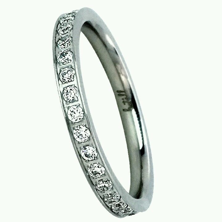 B Tiff New York Stainless Steel Eternity Ring Size 7 Women S Btiffnewyork Eternity Black Gold Ring Black Rings Jewelry